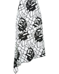 Manning Cartell - 'geometry Rules' Skirt - Lyst