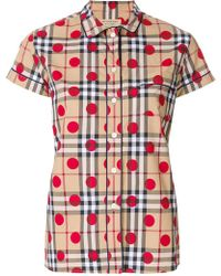 Burberry - House Check Printed Shirt - Lyst