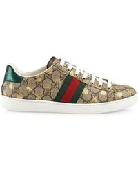 Gucci - Ace GG Supreme Sneaker With Bees - Lyst