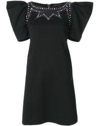 Frankie Morello - Embellished Mini Dress - Lyst