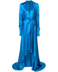 Francesco Paolo Salerno - Belted Hi-low Gown - Lyst