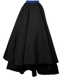 Christian Siriano - Full Flared Skirt - Lyst