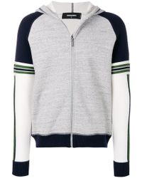 DSquared² - Zipped Two-tone Jacket - Lyst