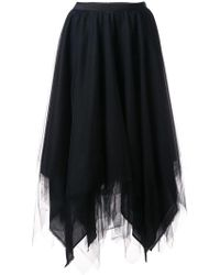 Marc Le Bihan - Asymmetric Full Skirt - Lyst