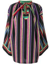 Duro Olowu - Minikleid mit Streifen - Lyst