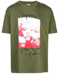 d55f33d9 Supreme Madonna Tee Heather Grey in Gray for Men - Lyst
