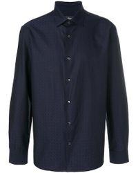 Ferragamo - Gancini Print Shirt - Lyst