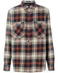 Rag & Bone - Checked Chest Pocket Shirt - Lyst