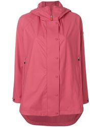 Save The Duck - Zip Up Raincoat - Lyst