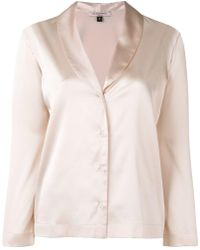 Gilda & Pearl - Атласная Рубашка Sophia - Lyst