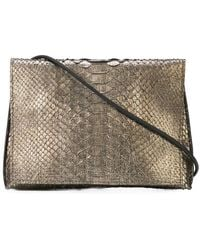 B May - Foldover Clutch Bag - Lyst