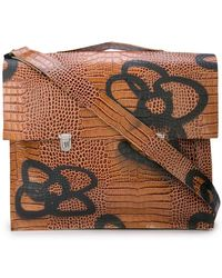 8ea07786ab80 Lyst - Vivienne Westwood Leather Positano Bag in Blue for Men