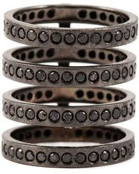 Repossi - Diamond Four Row Ring - Lyst