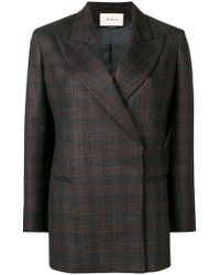 Mulberry - Structured Formal Blazer - Lyst