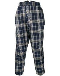 Vivienne Westwood - Plaid Dropped Crotch Trousers - Lyst