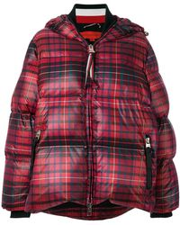 Tommy Hilfiger - Printed Down Jacket With Hood - Lyst
