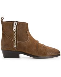 Golden Goose Deluxe Brand - Side-zip Ankle Boots - Lyst