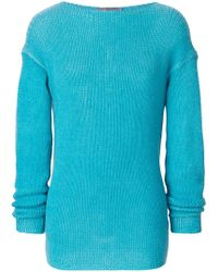 Ermanno Scervino - Round Neck Knit Jumper - Lyst