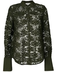 Essentiel Antwerp | Lace Embroidered Blouse | Lyst