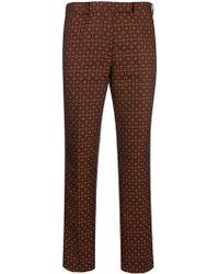 Etro Geometric Jacquard Pants