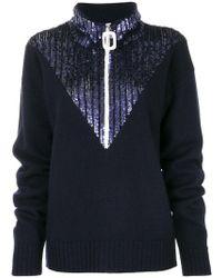 Aviu - Pullover Decorato Con Paillette - Lyst