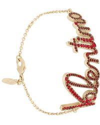Valentino - Garavani Embellished Bracelet - Lyst