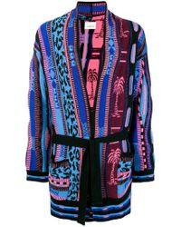 Laneus - Intarsia-knit Cardigan - Lyst