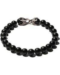 David Yurman - Spiritual Beads Black Onyx Bracelet - Lyst
