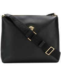 Versace - Medusa Messenger Bag - Lyst