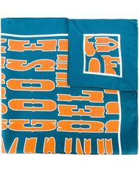 Golden Goose Deluxe Brand - Printed Logo Scarf - Lyst