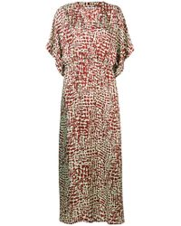 Barena - All-over Print Dress - Lyst