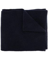 N.Peal Cashmere - Chunky Ribbed Cashmere Scarf - Lyst