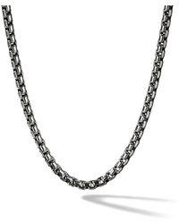 David Yurman - Collar Box de cadena mediano - Lyst
