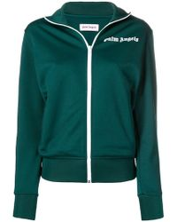 Palm Angels - Zipped Track Jacket - Lyst