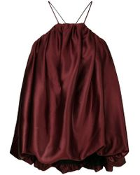 Mulberry - Oversized Gathered Cami - Lyst