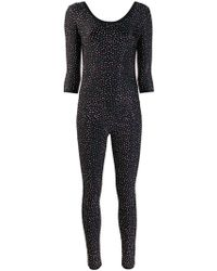 Each x Other - Crystal Embellished Catsuit - Lyst