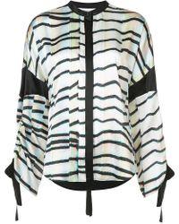 Kimora Lee Simmons - Eden Drawstring Shirt - Lyst