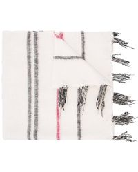 Denis Colomb - Striped Large Scarf - Lyst