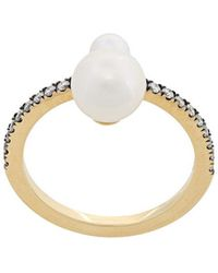 Jemma Wynne - Pave Band Ring - Lyst