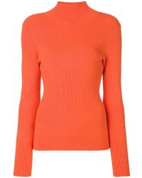 Etudes Studio - Sister Turtleneck Fitted Sweatshirt - Lyst