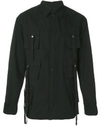 D.GNAK - Flap Pocket Military Shirt - Lyst