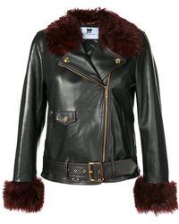 Blumarine - Zipped Jacket - Lyst