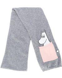 Chinti & Parker - Moomin Peekaboo Pocket Scarf - Lyst