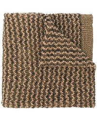 Twin Set - Knitted Scarf - Lyst