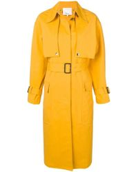 3.1 Phillip Lim - Belted Trench Coat - Lyst