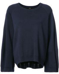 Adam Lippes - Oversized Sweatshirt - Lyst