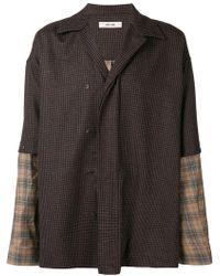Damir Doma - Boxy Checked Shirt - Lyst