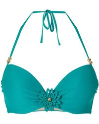 Marlies Dekkers - La Flor Push-up Bikini Top - Lyst