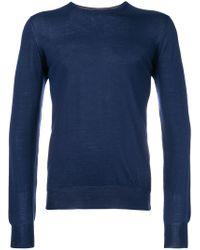 Dell'Oglio - Crew Neck Sweater - Lyst