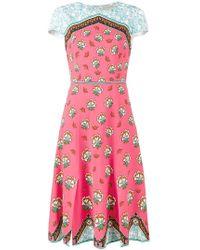 Mary Katrantzou - Osmond Floral Print Dress - Lyst